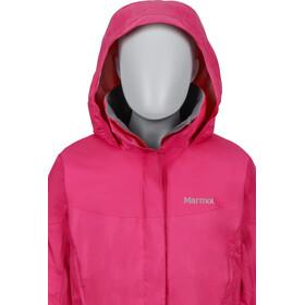 Marmot PreCip Jacket Flickor gypsy pink